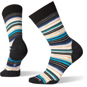 Smartwool Margarita Socks Damen black/deep navy